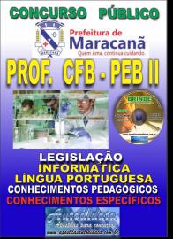 Apostila Impressa MARACANÃ/PA 2019 - Professor Anos Finais – Peb II – Ciências Físicas E Biológicas