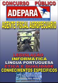 Apostila Concurso da ADEPARÁ 2015 - AGENTE DE DEFESA AGROPECUÁRIA