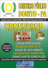 Apostila Impressa Concurso Público Prefeitura de Bonito - PA 2020 Professor de Educação Física