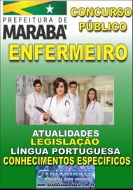 Apostila Impressa Concurso MARABÁ - PA 2018 - Enfermeiro