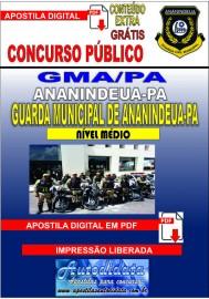 Apostiladigital Concurso Ananindeua/PA 2019 - Guarda Civil Municipal de Ananindeua