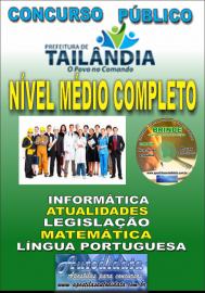 Apostila Impressa TAILÂNDIA/PA 2019 - Nível Médio Completo