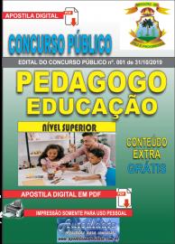 Apostila Digital Concurso - Prefeitura Municipal de Imperatriz - MA 2019 - Pedagogo