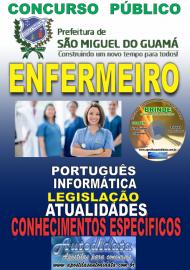 Apostila Impressa concurso SÃO MIGUEL DO GUAMÁ/PA 2019 – Enfermeiro