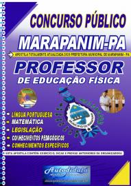 Apostila Impressa Concurso Público Prefeitura de Marapanim - PA 2020 Professor de Educação Física