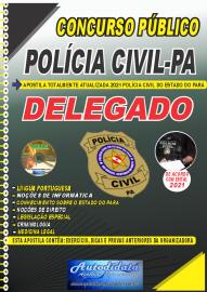 Apostila Impressa Concurso Público Polícia Civil do Pará 2020 Área Delegado
