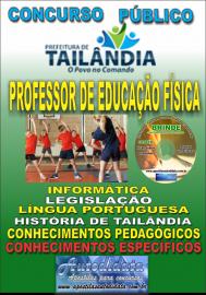 Apostila Impressa TAILÂNDIA/PA 2019 - Professor De Educação Física