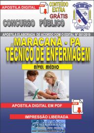 Apostila Digital Concurso de Maracanã/Pa 2019 – Técnico De Enfermagem