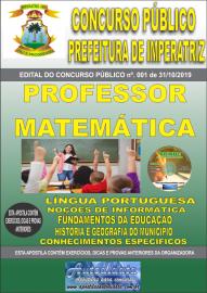 Apostila Impressa Concurso - Prefeitura Municipal de Imperatriz - MA 2019 - Professor Matemática