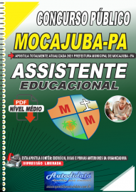 Apostila Digital Concurso Público Prefeitura de Mocajuba - PA 2021 Assistente Educacional