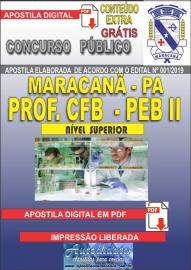 Apostila Digital MARACANÃ/PA 2019 - Professor Anos Finais – Peb II – Ciências Físicas E Biológicas