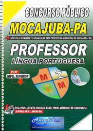 Apostila Digital Concurso Público Prefeitura de Mocajuba - PA 2021 Professor de Língua Portuguesa