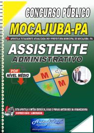 Apostila Digital Concurso Público Prefeitura de Mocajuba - PA 2021 Assistente Administrativo