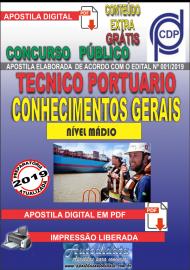 Apostila Digital Concurso COMPANHIA DOCAS DO PARÁ - 2019 - Técnico Portuário - Conhecimentos Gerais
