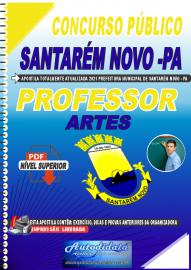 Apostila Digital Concurso Público Prefeitura de Santarém Novo - PA 2021 Professor de Artes
