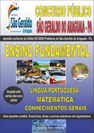Apostila Impressa Concurso Público Prefeitura Municipal de São Geraldo do Araguaia - PA 2020 Ensino Fundamental