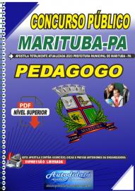 Apostila Digital Concurso Público Prefeitura de Marituba - PA 2020 Pedagogo