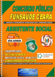 Apostila digital concurso da Fundação Regional de Saúde Funsaúde-CEARÁ 2021 - ASSISTENTE SOCIAL