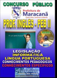 Apostila Impressa MARACANÃ/PA 2019 - Professor Anos Finais – Peb II –Inglês