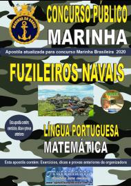 Apostila Impressa Concurso Público Marinha do Brasil - 2020 Fuzileiro Naval