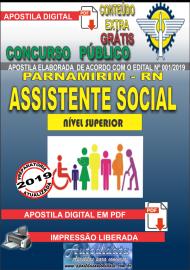 Apostila Digital Concurso PARNAMIRIM – RN/2019 - Assistente Social