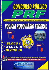Apostila Digital Concurso da Polícia Rodoviaria Federal 2021 - Polícial Rodoviário Federal