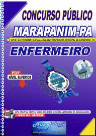 Apostila Digital Concurso Público Prefeitura de Marapanim - PA 2020 Enfermeiro