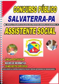 Apostila Impressa Concurso Público Prefeitura de Salvaterra - PA  2020 Assistente Social