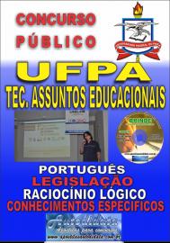 Apostila Impressa Concurso UFPA 2019 – Técnico Em Assuntos Educacionais