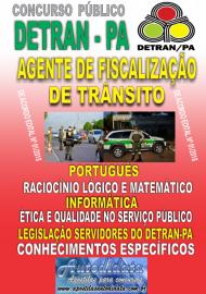 Apostila impressa concurso DETRAN - PA 2018 - Agente de Fiscalização