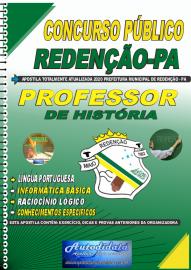 Apostila Impressa Concurso Público Prefeitura de Redenção - PA 2020 Professor de História
