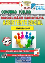 Apostila Digital Concurso de MAGALHÃES BARATA/PA 2019 – Assistente Social