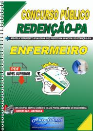 Apostila Digital Concurso Público Prefeitura de Redenção - PA 2020 Enfermeiro