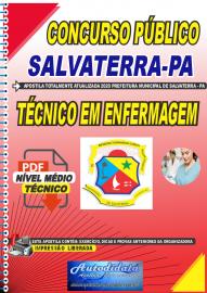 Apostila Digital Concurso Público Prefeitura de Salvaterra - PA  2020 Técnico em Enfermagem