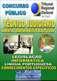 Apostila Impressa Concurso TRE - PA 2019 - Técnico Judiciário - Área Administrativa