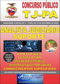 Apostila Impressa Concurso TJ-PA 2019 - Analista Judiciário Suporte