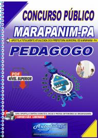 Apostila Digital Concurso Público Prefeitura de Marapanim - PA 2020 Pedagogo