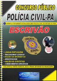 Apostila Impressa Concurso Público Polícia Civil do Pará 2020 Área Investigador e Escrivão
