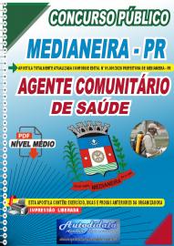 Apostila Digital Concurso Público Prefeitura de Medianeira 2020 Agente Comunitário de Saúde