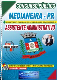 Apostila Digital Concurso Público Prefeitura de Medianeira 2020 Assistente Administrativo