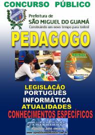 Apostila Impressa concurso SÃO MIGUEL DO GUAMÁ/PA 2019 – Pedagogo