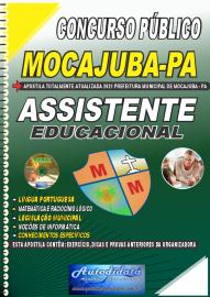 Apostila Impressa Concurso Público Prefeitura de Mocajuba - PA 2021 Assistente Educacional