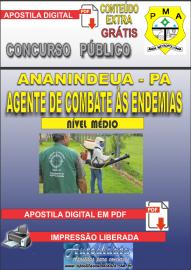 Apostila Digital Concurso de ANANINDEUA/PA - 2019 – Agente De Combate Às Endemias