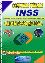 Apostila Digital Concurso INSS 2021 Analista de Seguro Social
