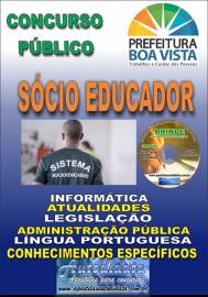Apostila Impressa BOA VISTA/RR 2019 - Sócio educador