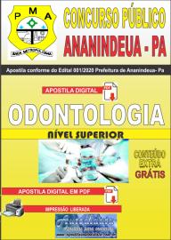 Apostila Digital Concurso Público Prefeitura de Ananindeua - PA 2020 Área Odontologia