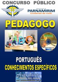 Apostila Impressa Concurso PARNAMIRIM – RN/2019 - Pedagogo