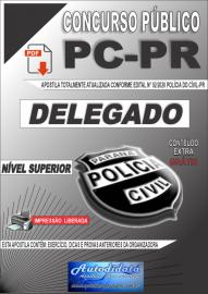Apostila digital Concurso Polícia Civil do Paraná 2020 Delegado de Polícia Civil