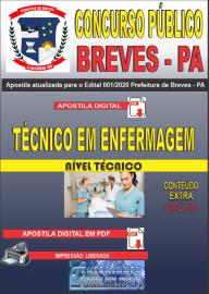 Apostila Digital Concurso Público Prefeitura de Breves - PA 2020 Técnico em Enfermagem