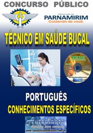 Apostila Impressa Concurso PARNAMIRIM – RN/2019 - Técnico em Saúde Bucal
